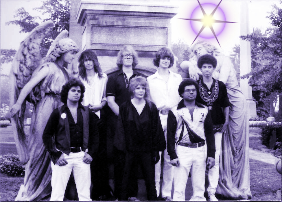 Parousia leaves the crypt to perform at the Buffalo State College Superdance Marathon- Saturday 11.08.80