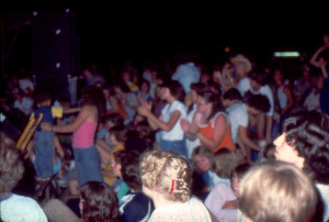 Parousia at Riverside park July 3, 1981