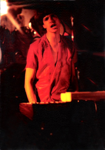 Patt Connolly - Video release party at the Chamber - December 1984