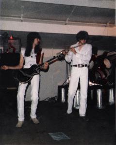 Garth Huels and Patt Connolly at Riverside Park - June 30th, 1984