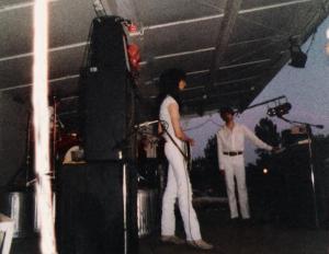 Parousia concert at Riverside Park - June 30th, 1984