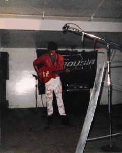 Robert Lowden with Parousia at Riverside Park - June 30th 1984