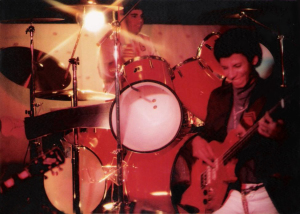 Gerry Cannizzaro & Robert Lowden - Parousia video release party at the Chamber - December 1984