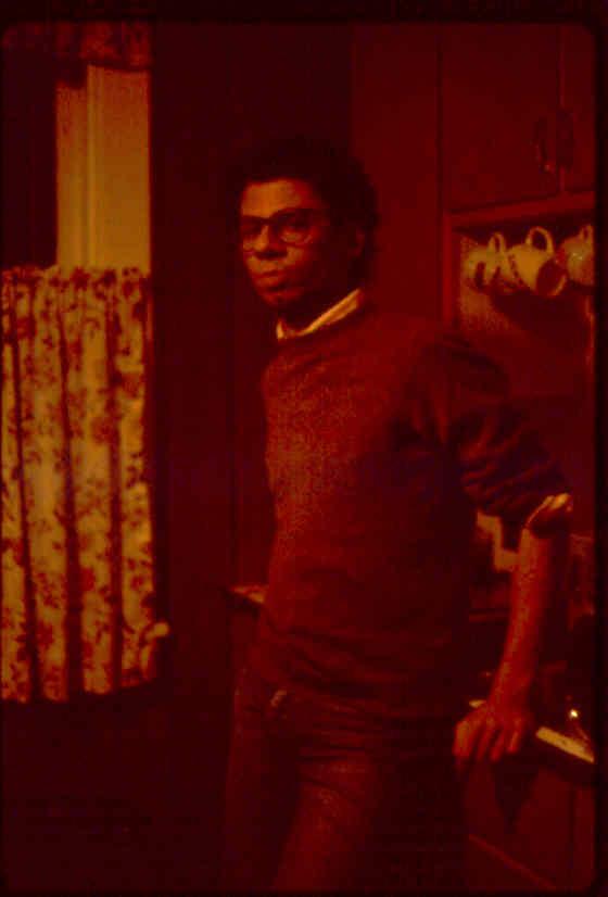 Robert at Randy's Studio on Garner - Filippone Sound Studios June 25th- July 21st 1980