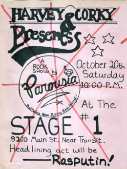 Stage One October 20, 1979