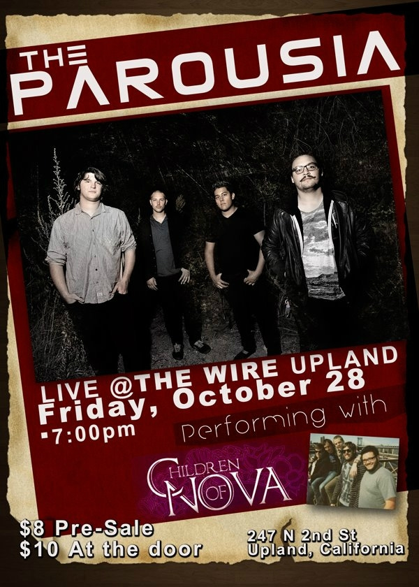 The Parousia at the Wire, Upland CA. 10.28.2011