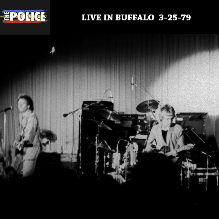 The POLICE at Stage-One, March 25, 1979