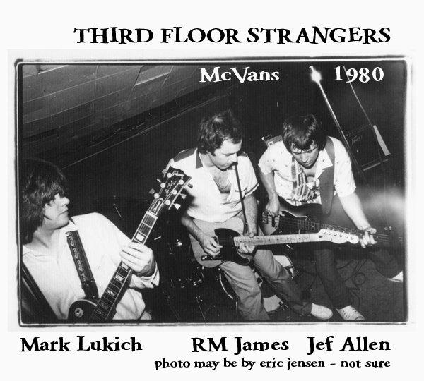 Third Floor Strangers McVans 1980