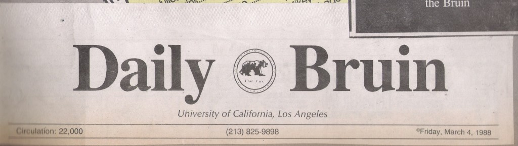 Turnaround Cassette review UCLA Daily Bruin March 4th 1988 (2)