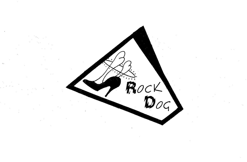 'Turnaround' relased in Oct.1987 on the newly formed 'Rock Dog Records' label (Art design by Robert Lowden)