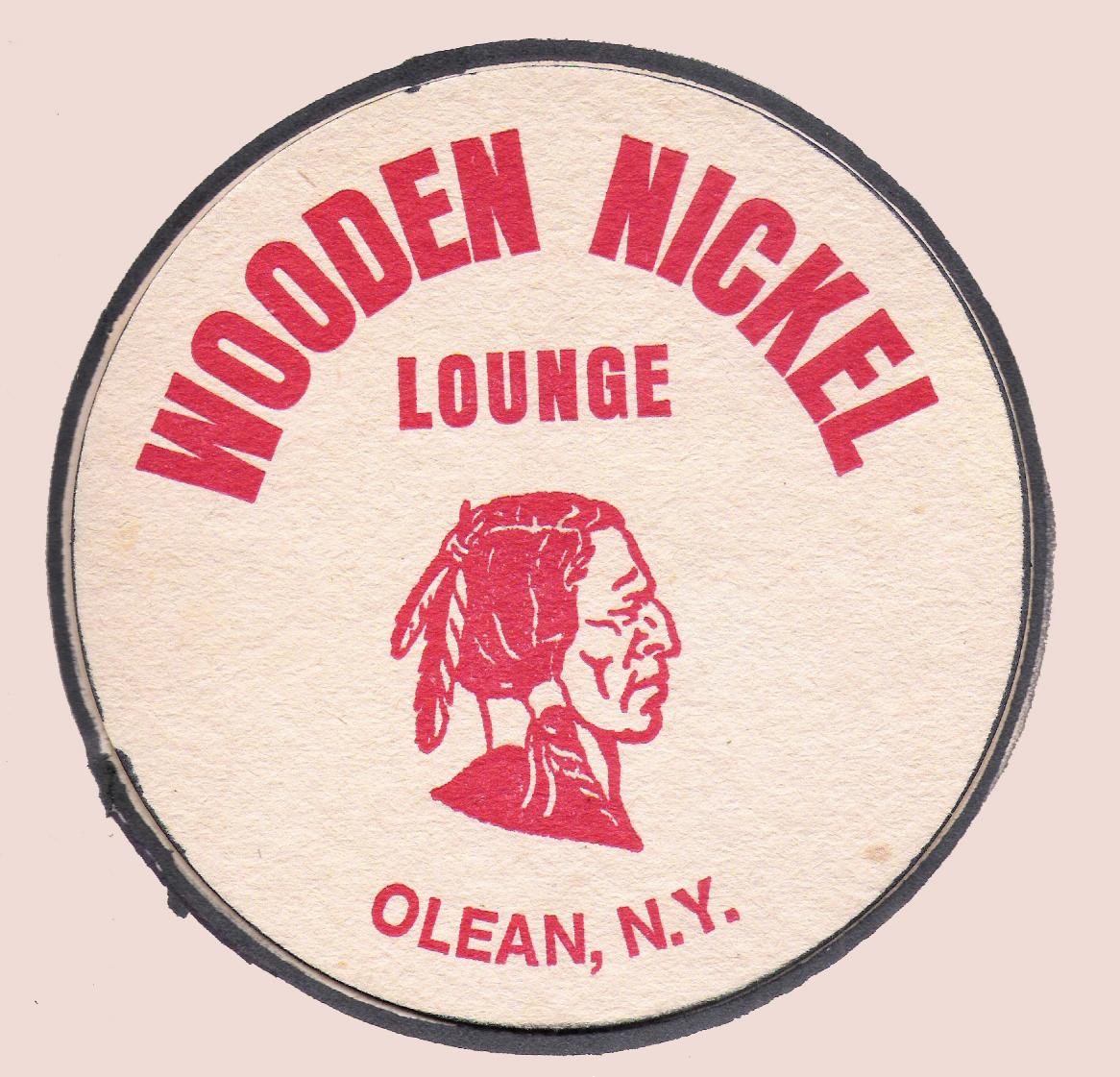 Wooden Nickel Coaster circa 09.19.1981