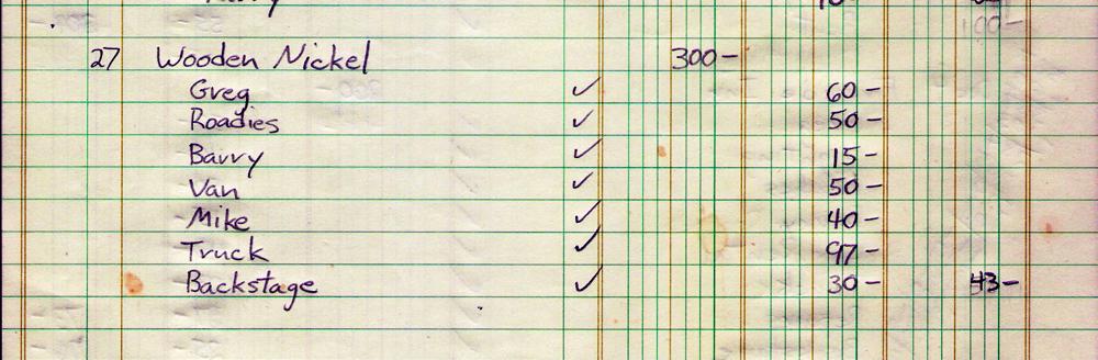 Wooden Nickel Financial Statement 12.27.1981