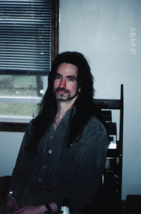Garth Huels at Gregg Filippone's house in Clarence, NY; 1997