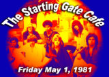 Parousia' at the Starting Gate Café – Friday May 1, 1981